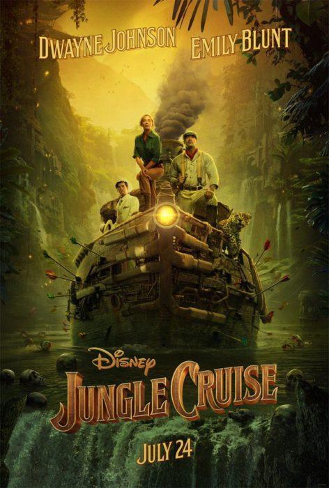 Parte l'avventura col primo poster di Jungle Cruise