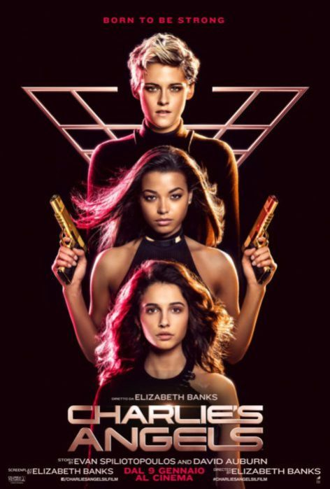charlie's angels poster italiano
