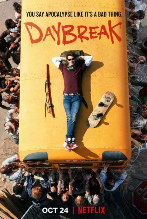 Il nuovo apocalittico trailer di Daybreak, la serie tv Netflix