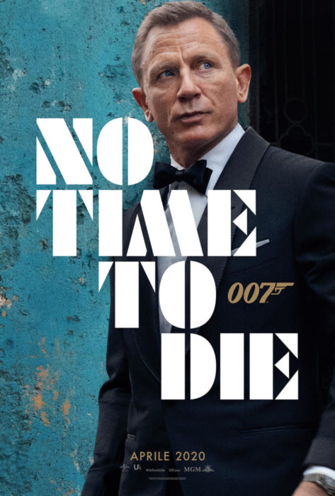 Poster, trama e data italiana per No Time to Die