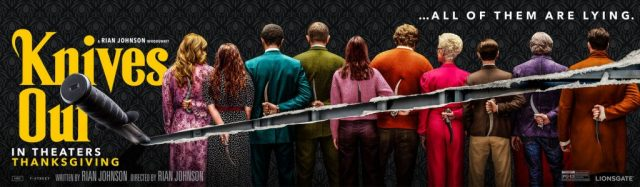 Tutti colpevoli nei due nuovi banner di Cena con Delitto - Knives Out