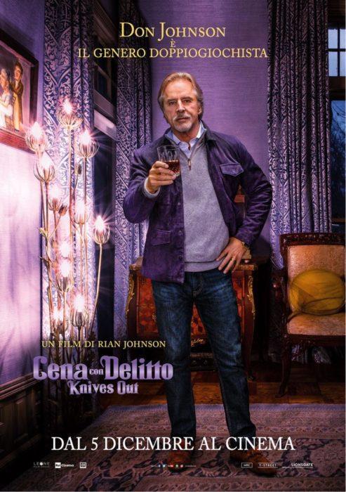 I protagonisti di Cena con Delitto - Knives Out nei nuovi poster