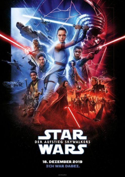 star wars l'ascesa di skywalker porg