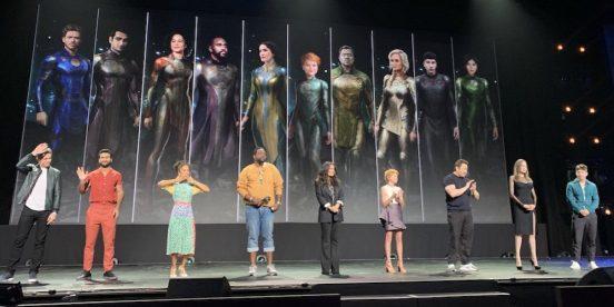 Gli Eterni Film Cast