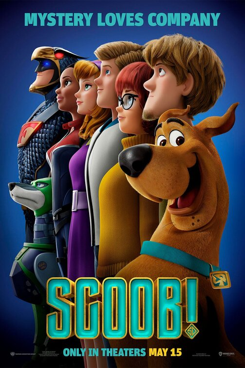 scooby cartoon poster