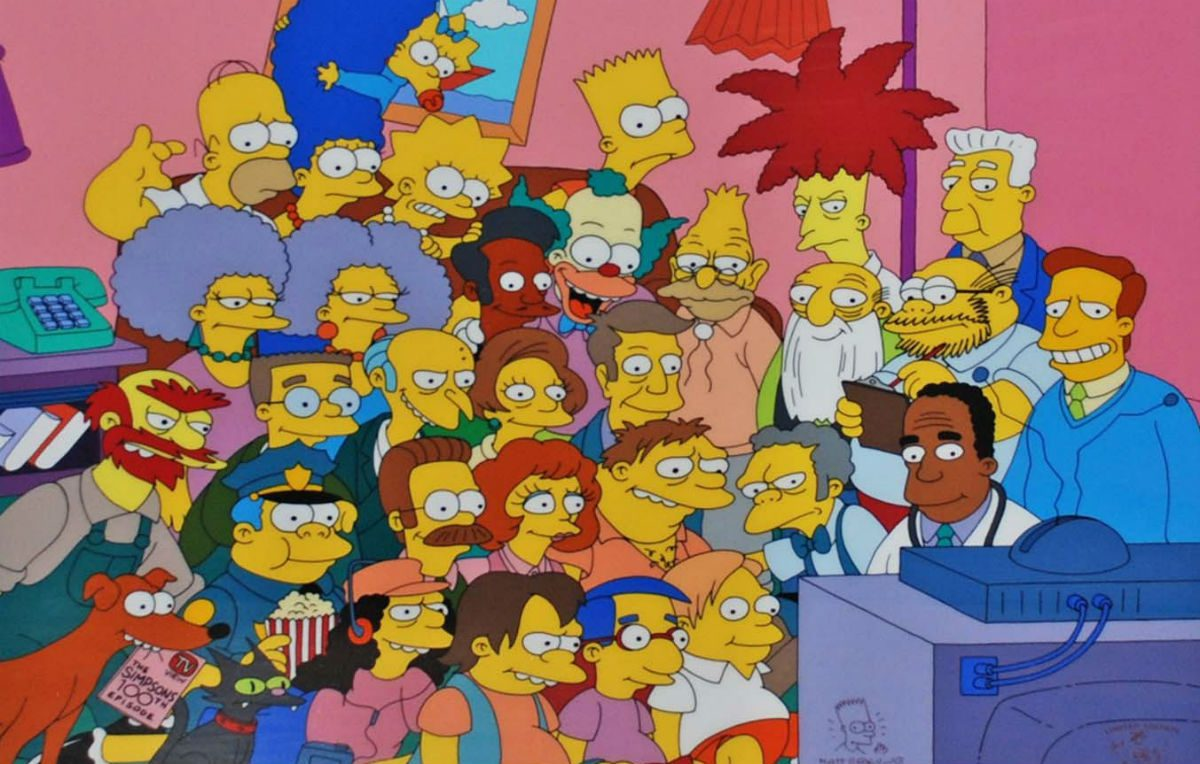 I Simpson Cartoon