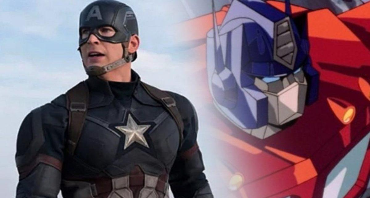Optimus Prime contro Captain America