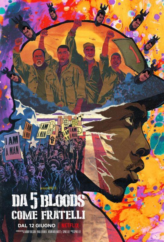Da 5 Bloods - Come Fratelli Poster