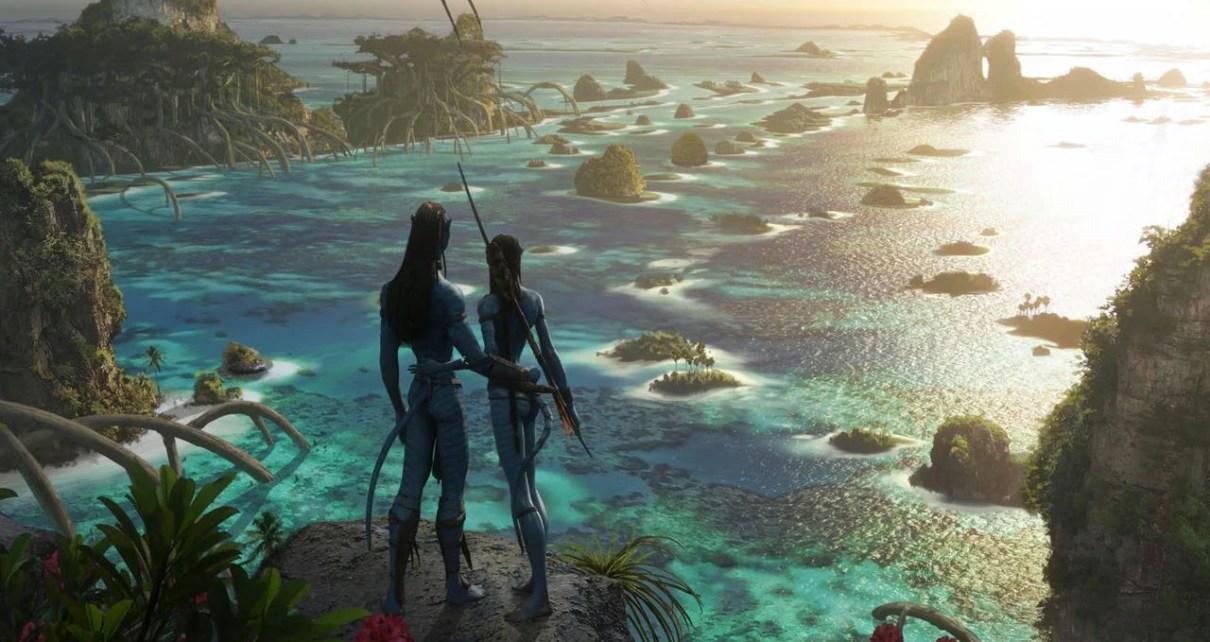 Sequenze di guerra sul set di Avatar 2
