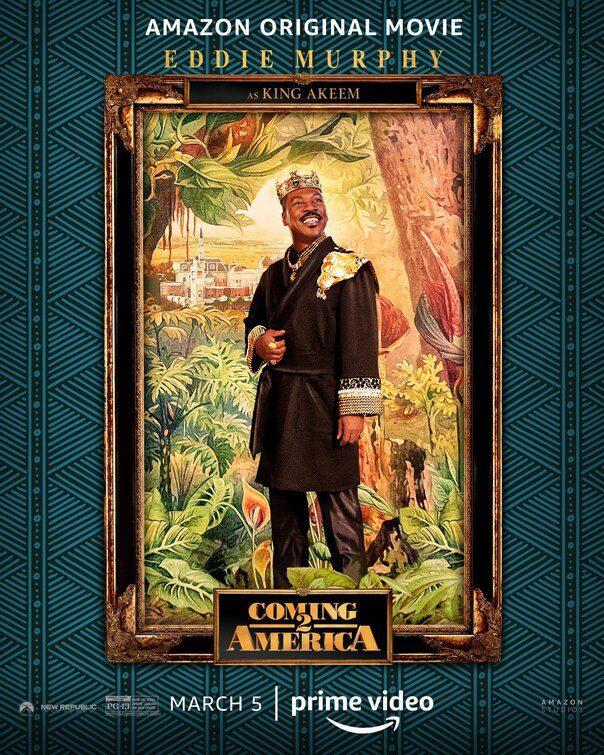 Il Principe Cerca Figlio: quattro poster dal film con Eddie Murphy