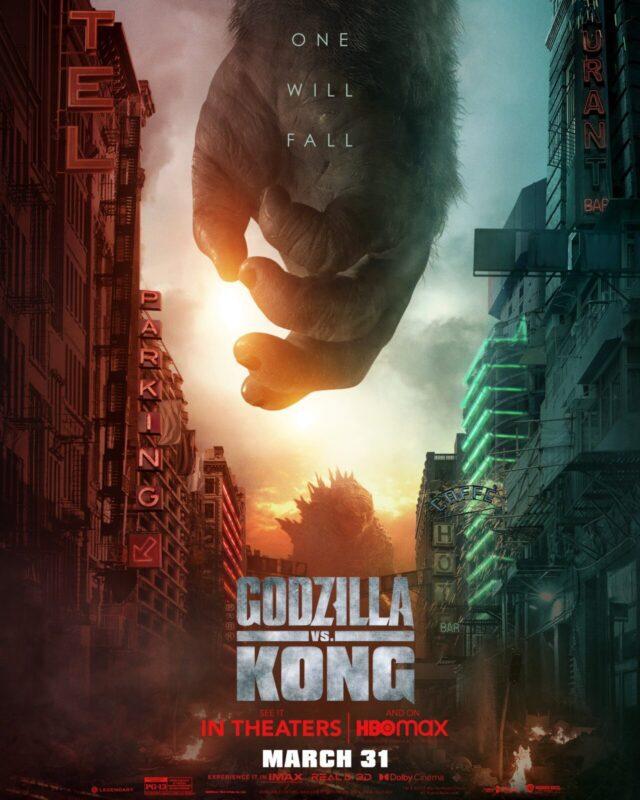 Lo scontro finale nei nuovi poster di Godzilla vs Kong
