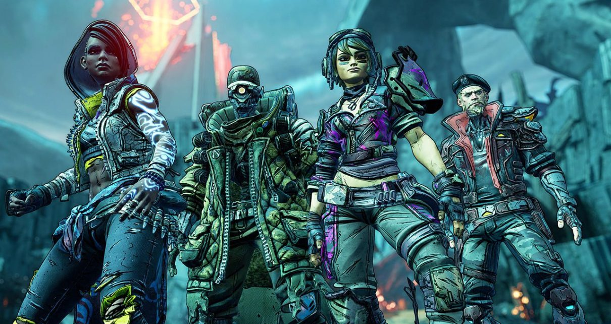 borderlands film riprese