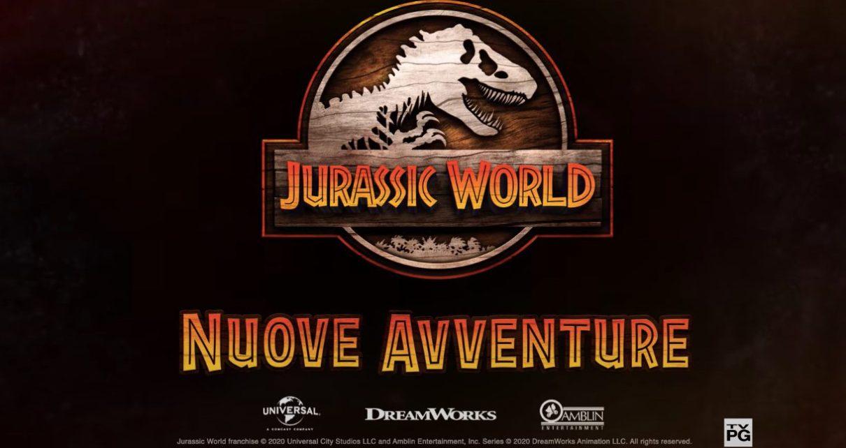 jurassic world nuove avventure terza stagione trailer