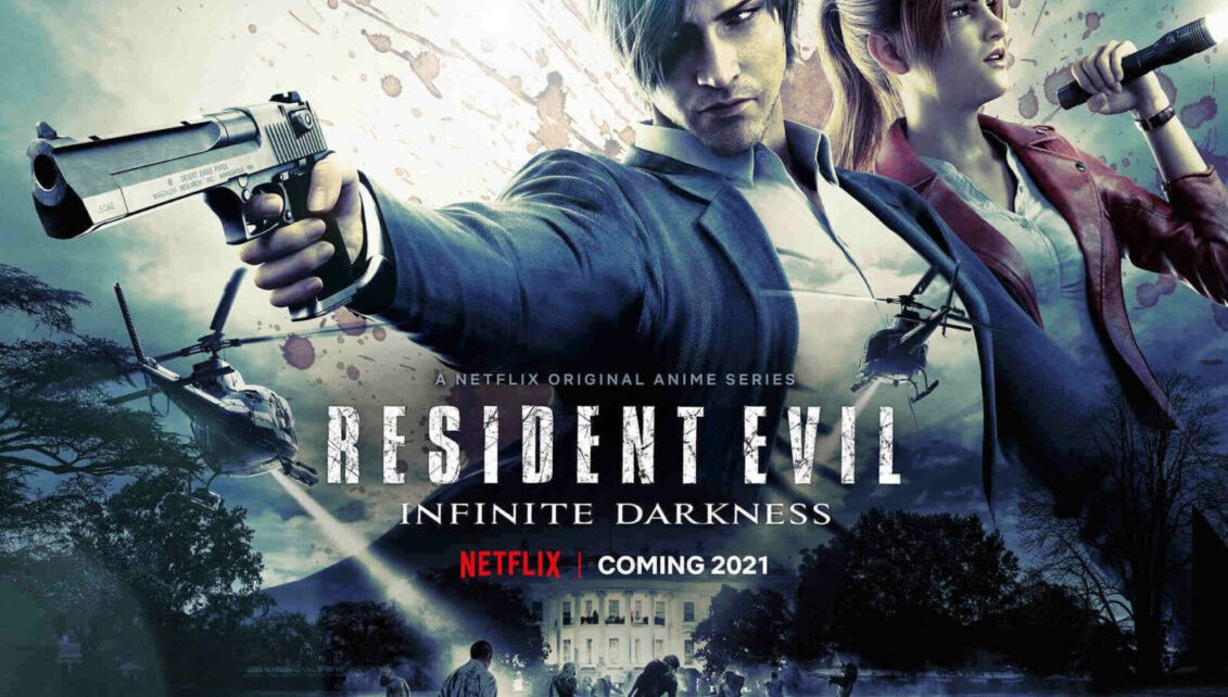 resident evil: infinite darkness primo trailer