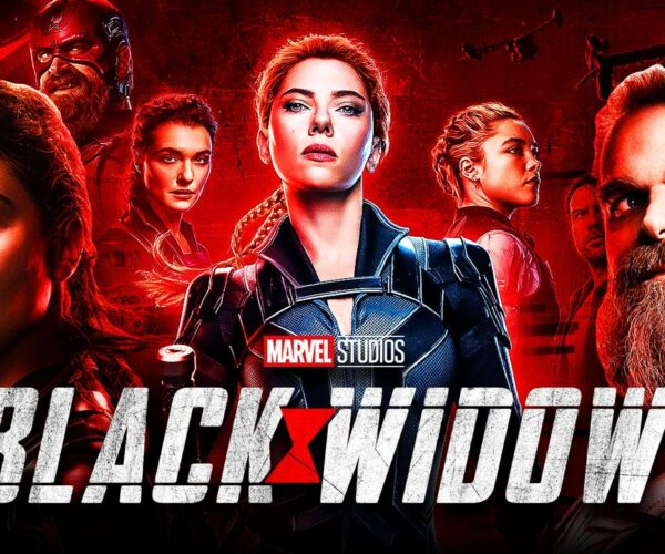 black widow film clip