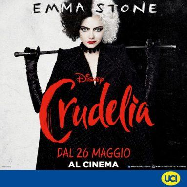 UCI Cinemas: Parco Leonardo riapre con Crudelia il 26 maggio