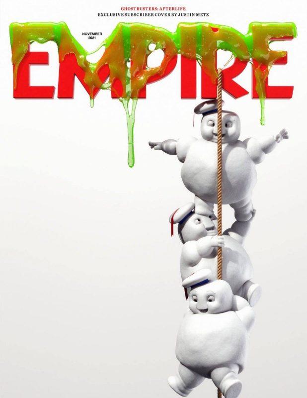 Empire Magazine dedica le nuove copertine a Ghostbusters: Legacy