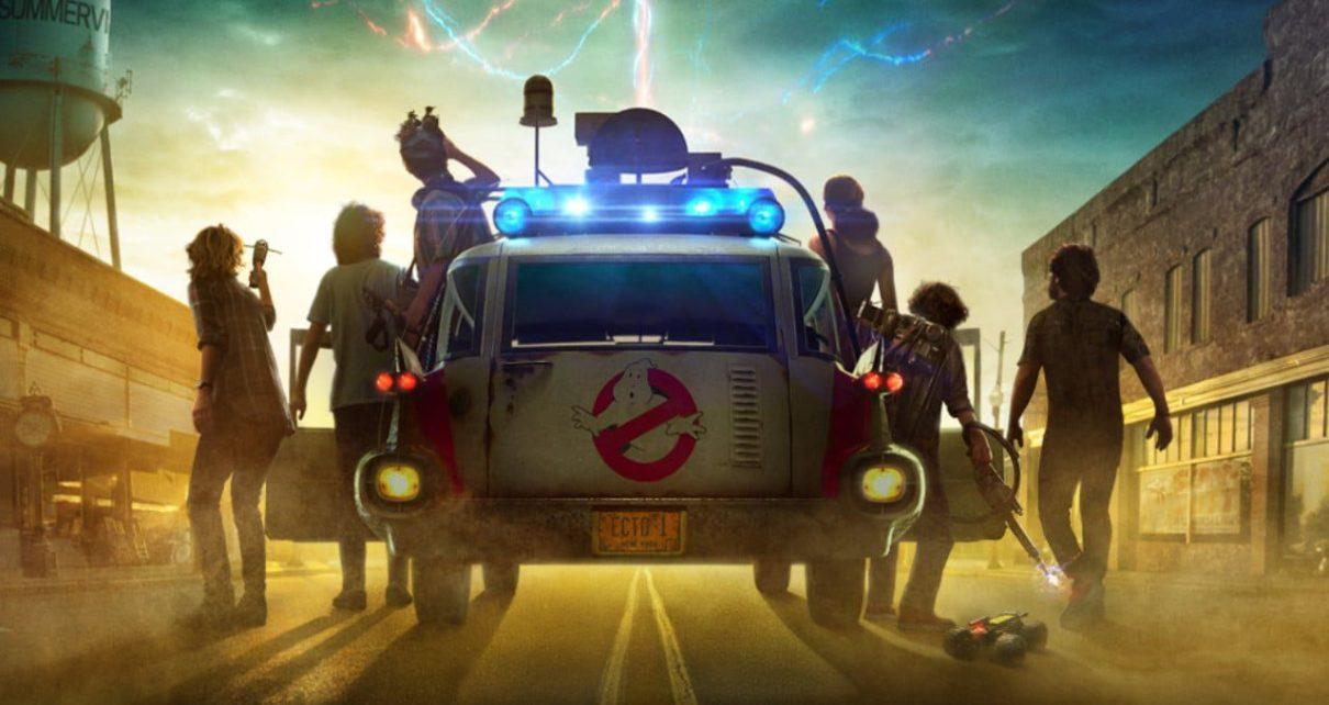 ghostbusters: legacy poster cinemark