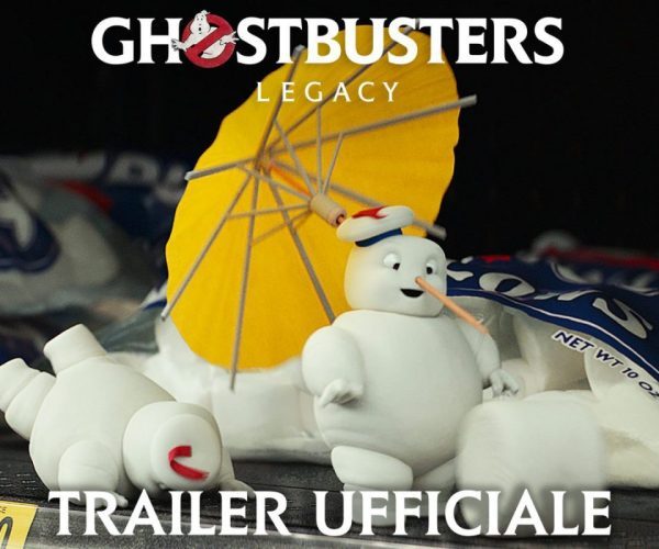 ghostbusters: legacy nuovo trailer