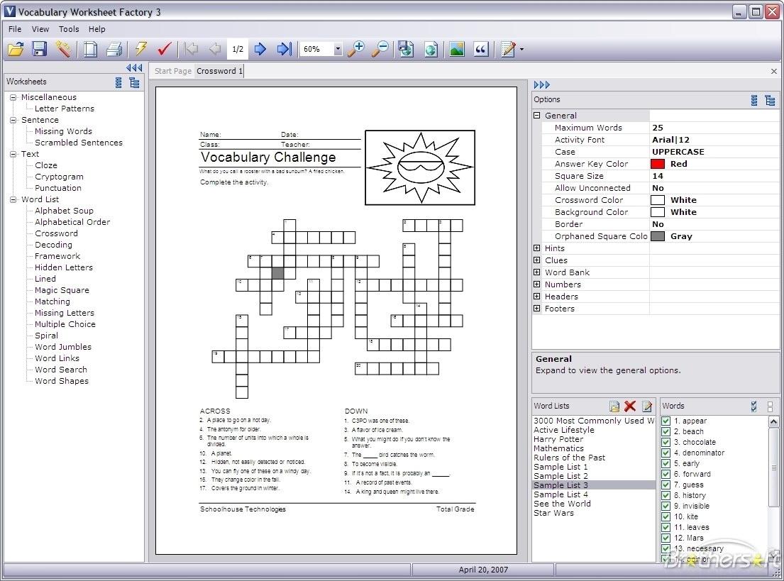 Mathematics Worksheet Factory Deluxe 3 1 Free Download