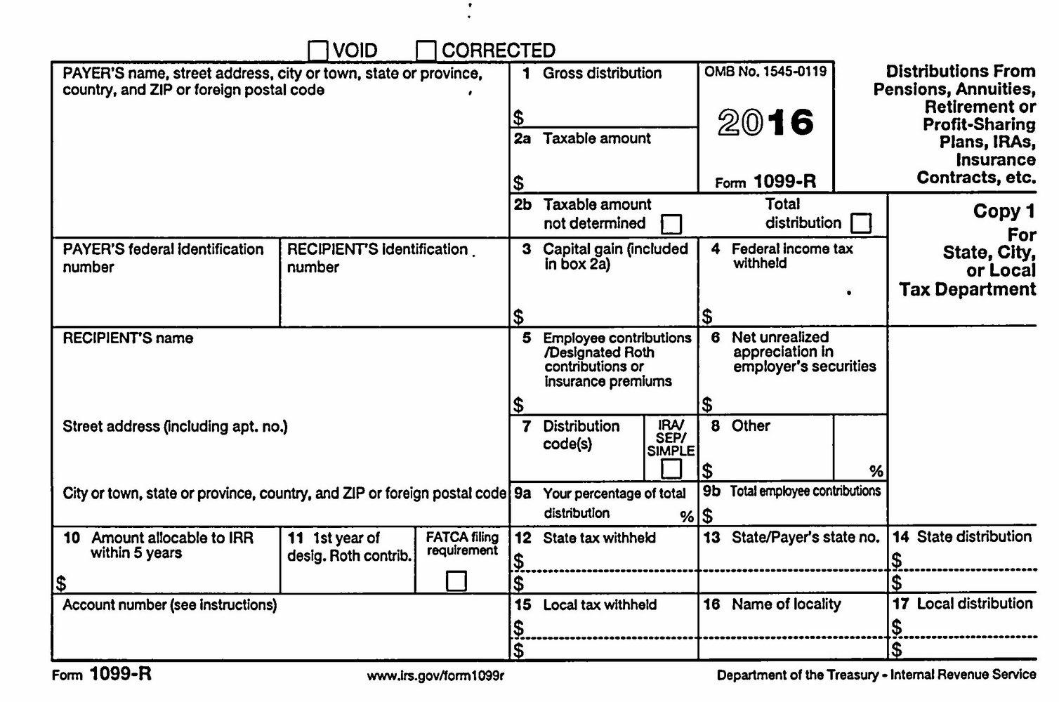 Irs W2 Form Printable