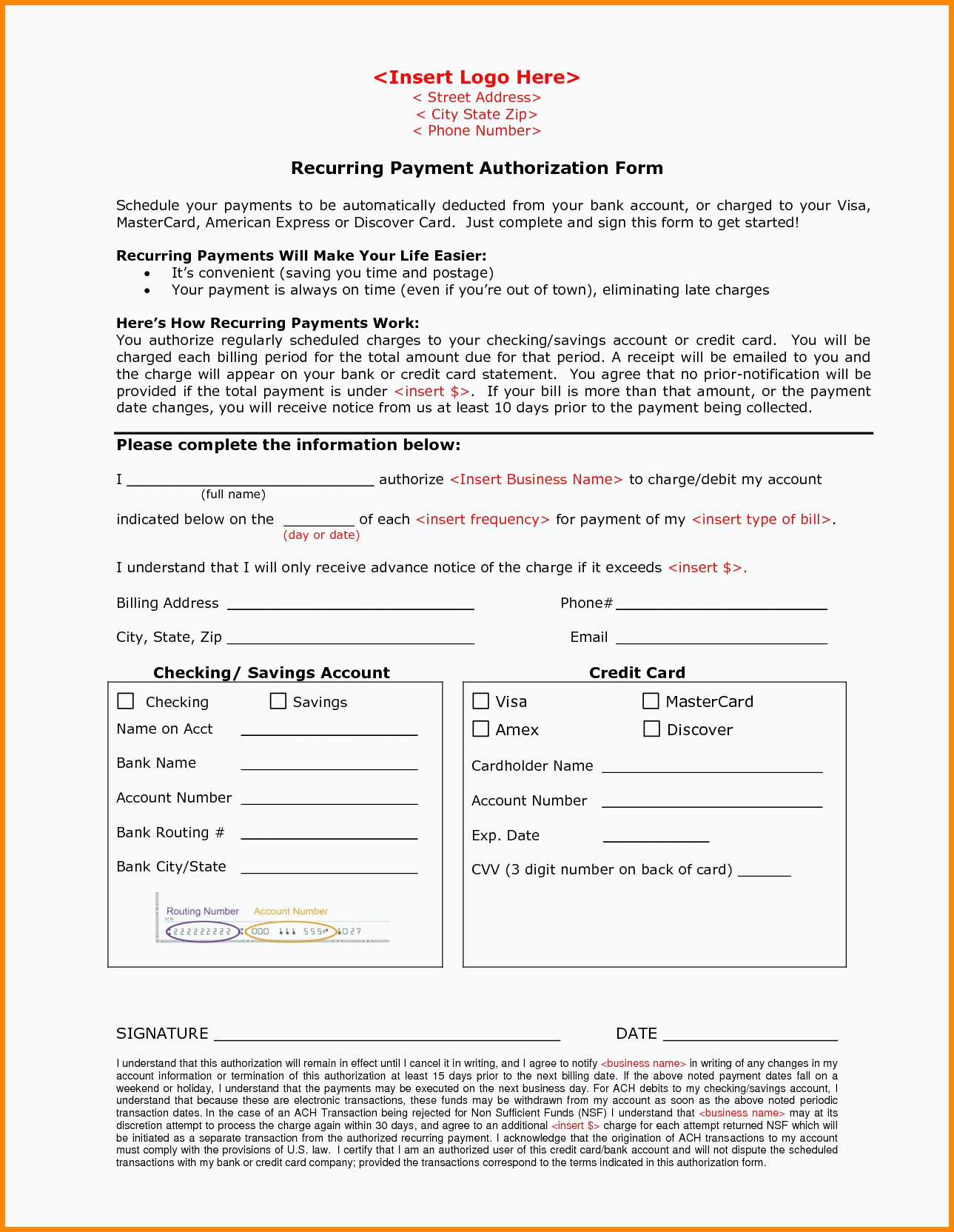 Ssi Forms