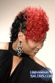 mohawk hair styles monica