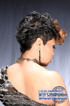 mohawk hair styles from antavia crawford