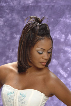 medium hairstyle with color from all about you hair designs