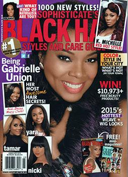 Black Hair Magazines Universal Salons Hairstyle And Hair Salon