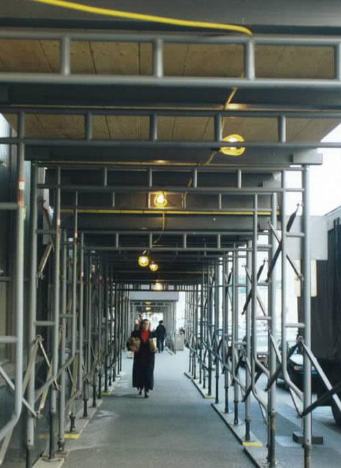 Sidewalk Protection Scaffold Rental Pedestrian Protection Rentals