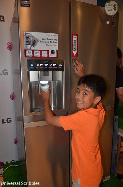 LG's Large Capacity Refrigerator