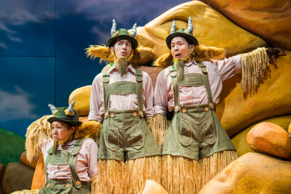 Three Billy Goats Gruff Giveaway Tickets