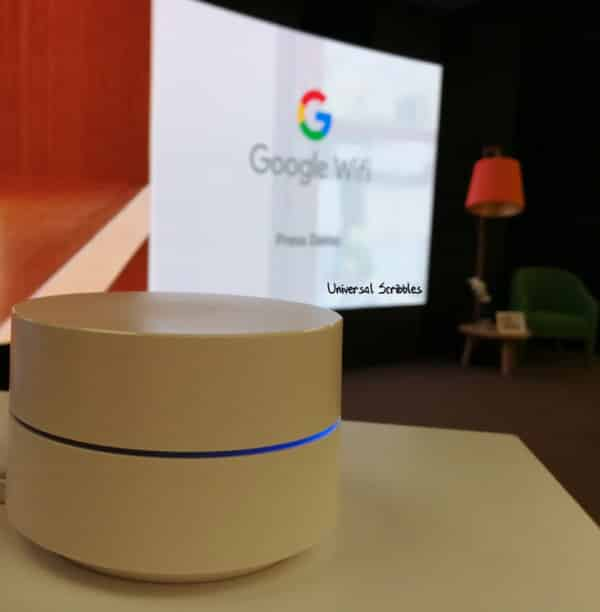 Google Wifi Unbox and Setup Review