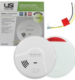 universal security instruments product manuals documentation usi electric smoke detectors wiring diagram [ 1000 x 1000 Pixel ]