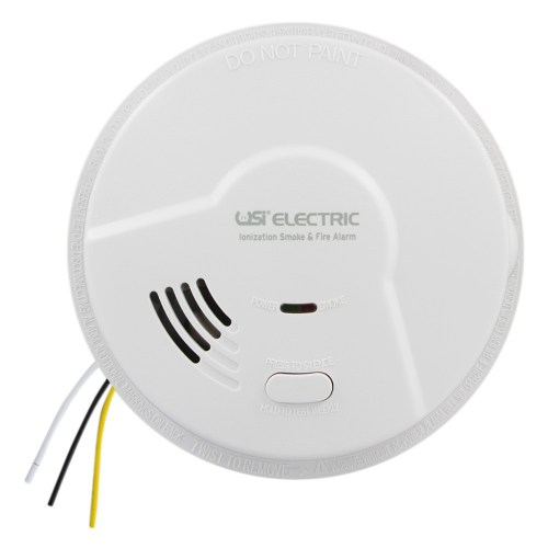 small resolution of usi electric 5304 hardwired ionization smoke and fire alarm with battery backup
