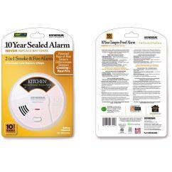 Kitchen Smoke Detector Island Storage Universal Security Instruments Mdsk300s 2 In 1