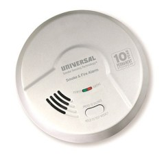Kitchen Smoke Detector Modular Outdoor Kitchens Universal Security Instruments Mdsk300s 2 In 1 Fire And Smart Alarm With 10 Year Sealed Battery