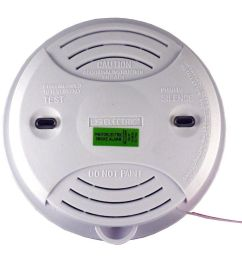 universal security instruments usi 3204 wired in 120 volt photoelectric alarm [ 900 x 900 Pixel ]