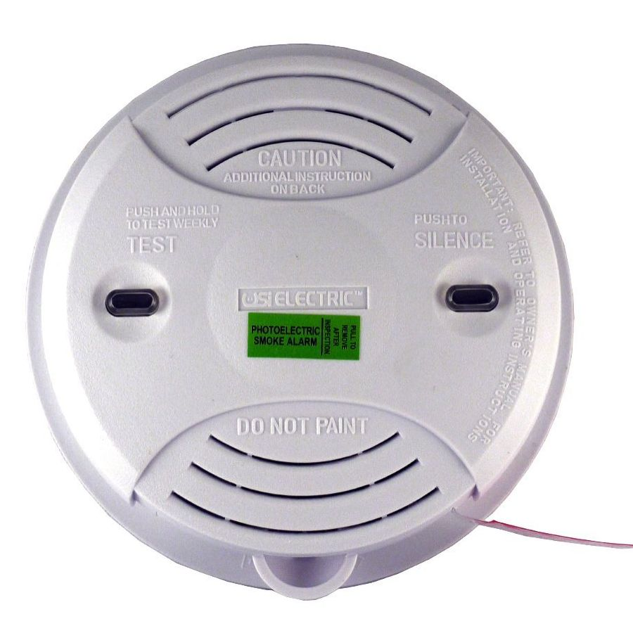 medium resolution of universal security instruments usi 3204 wired in 120 volt photoelectric alarm