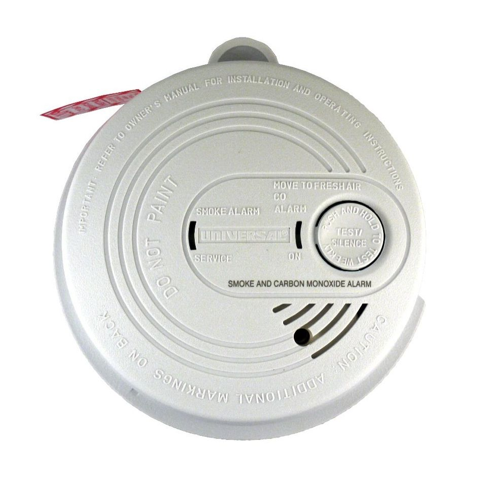 hight resolution of universal security instruments usi 7795 120 volt ac dc wired in combination smoke and carbon monoxide alarm