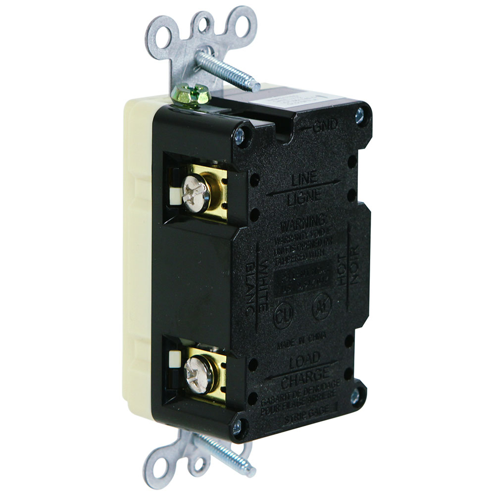 hight resolution of usi electric 20 amp self test gfci weather tamper resistant receptacle duplex outlet ivory