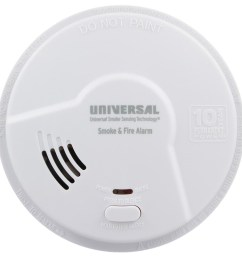 usi 10 year tamper proof sealed battery smoke fire smart alarm mdsk300s universal security store [ 1000 x 1000 Pixel ]