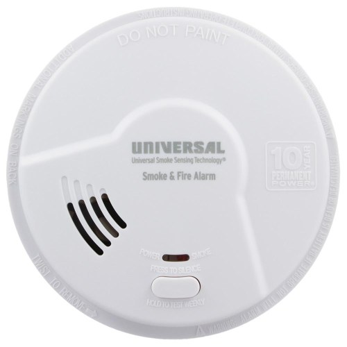 small resolution of usi 10 year tamper proof sealed battery smoke fire smart alarm mdsk300s universal security store