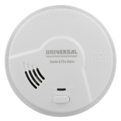 Kitchen Smoke Detector Natural Wood Cabinets Bedroom And Hallway Co Alarms From Usi Detectors