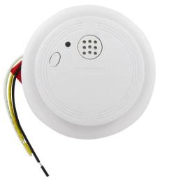 ionization hardwired smoke and fire alarm usi 1204ha universal security store [ 1000 x 1000 Pixel ]