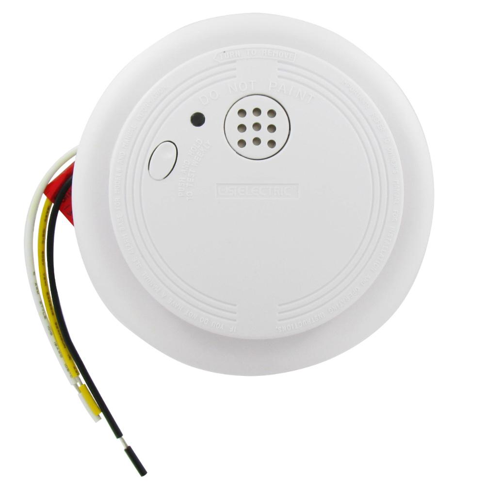 medium resolution of ionization hardwired smoke and fire alarm usi 1204ha universal security store