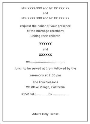 Wedding Invitation Card Matter In Malayalam Matik For