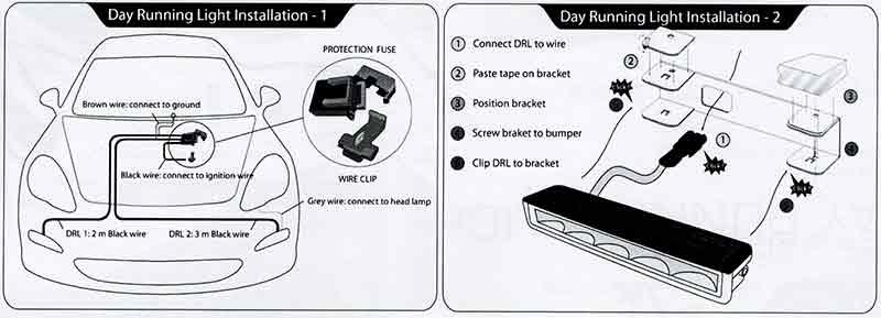 Daytime Running Lights Installation Manual