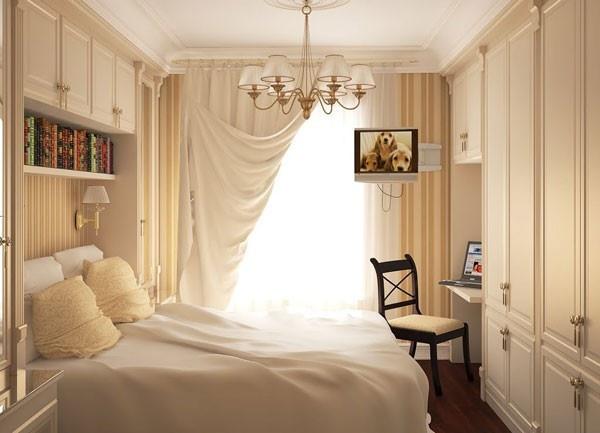 غرف النوم الصغيرة